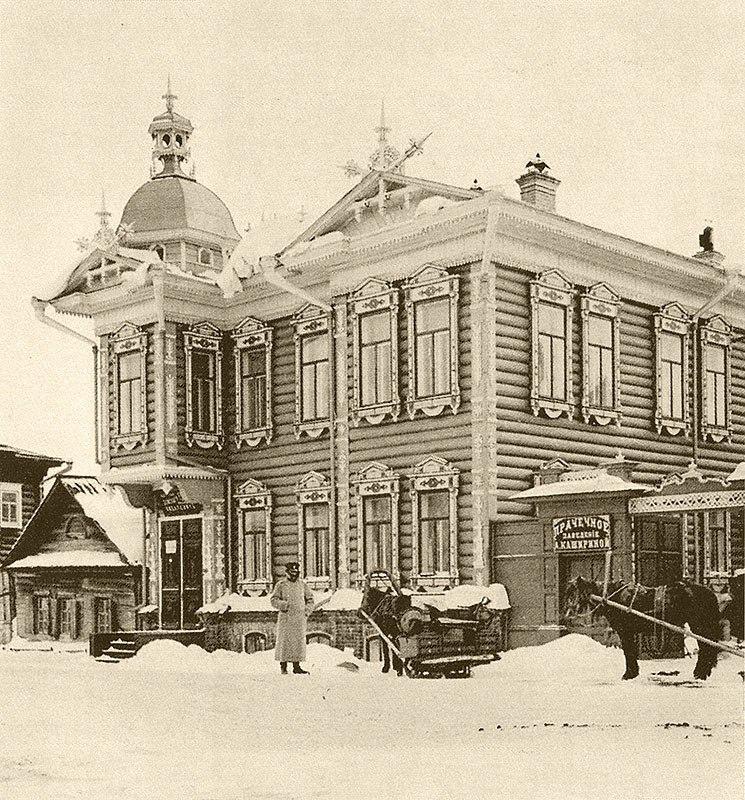 Дом Моисеевой по пер. Монастырскому