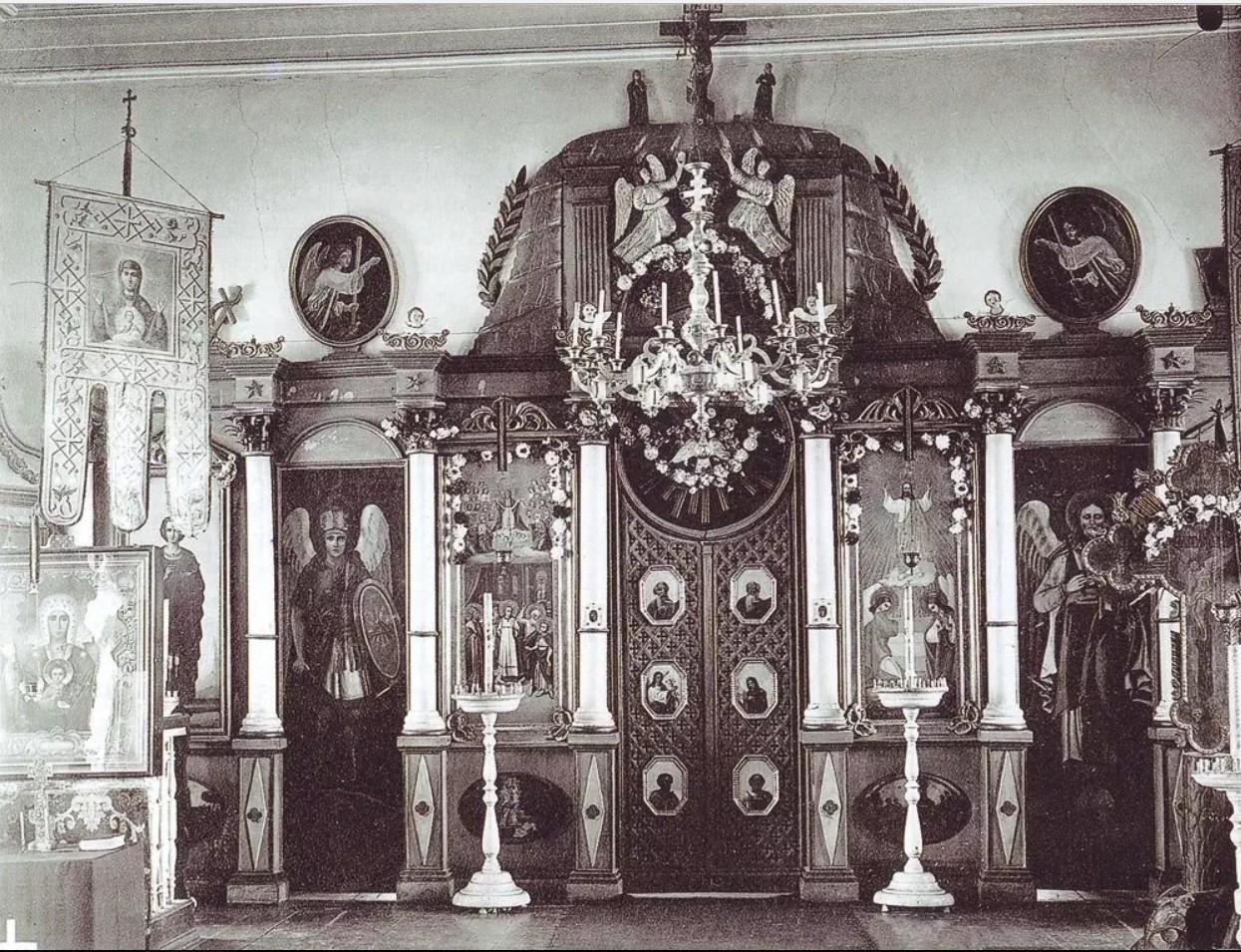Иконостас церкви во имя Казанской иконы Божией Матери в мужском монастыре