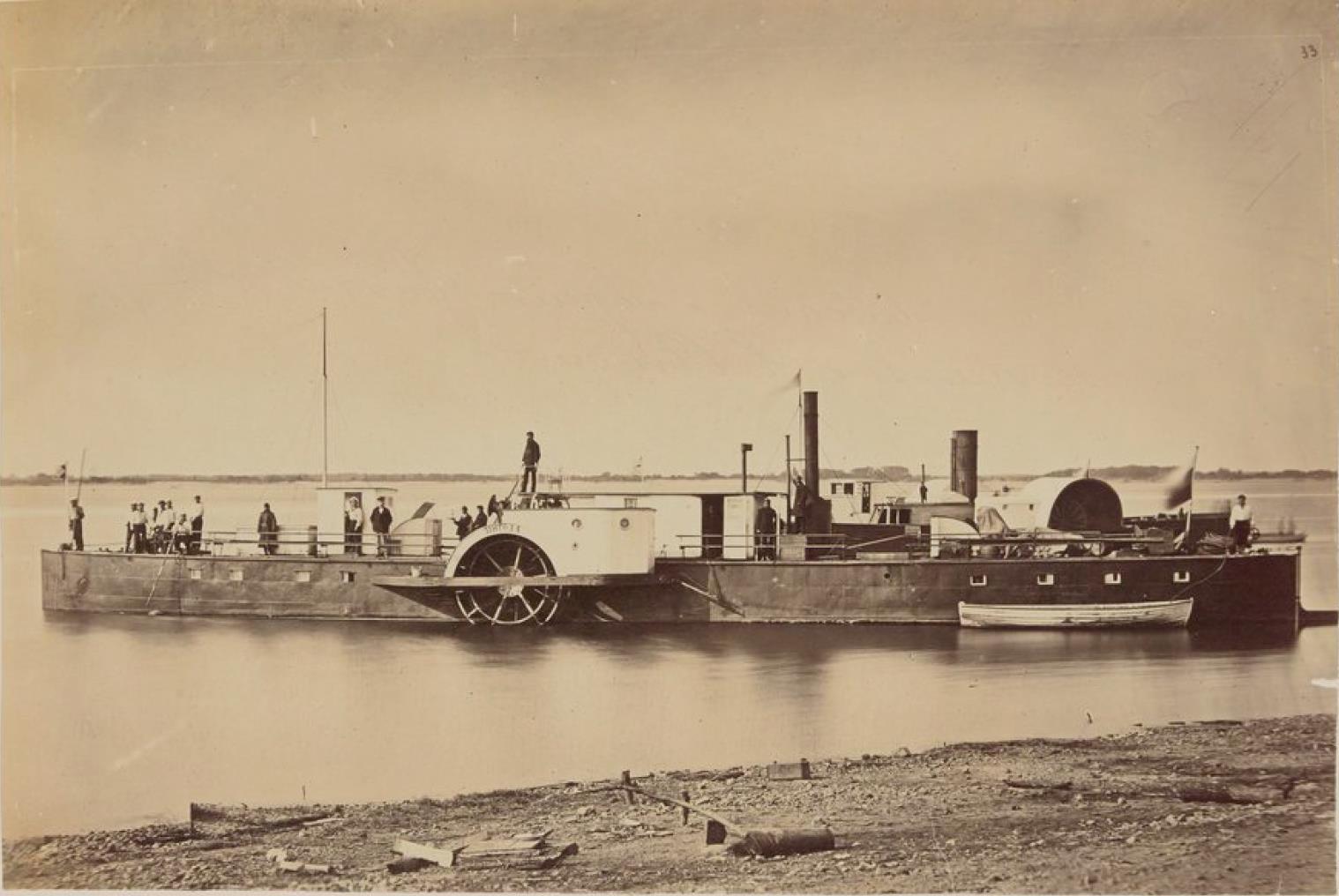 19. Паровое судно на Амуре
