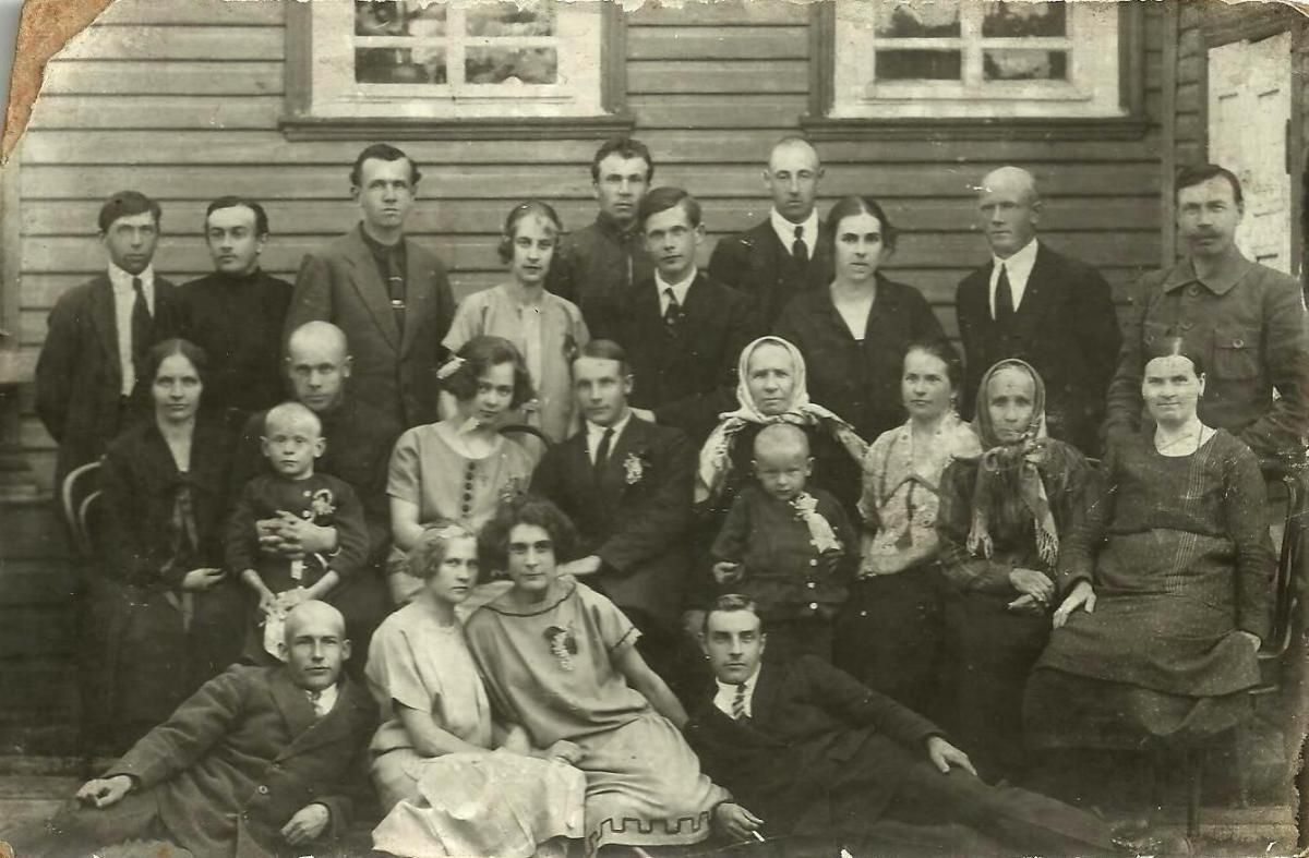 1925. Свадьба