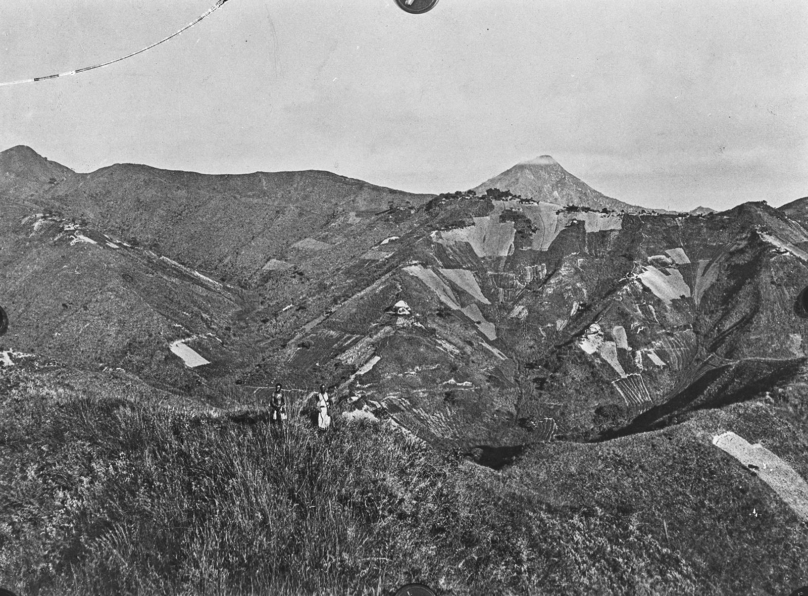 334. Пахотная земля на склонах гор Ливингстона