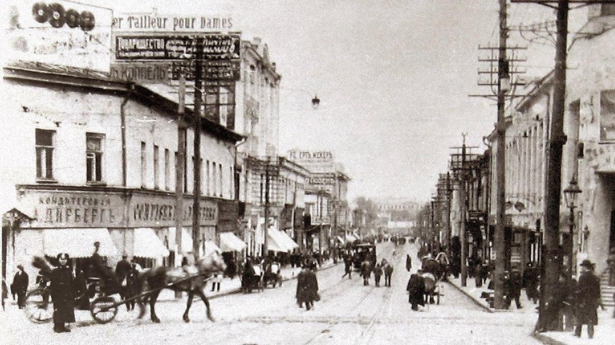 Московская улица от Петровского переулка