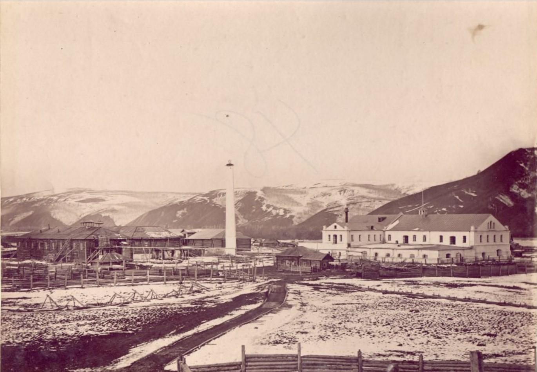 Борщевский винокуренный завод М. Д. Бутина в 30 верстах от Нерчинска