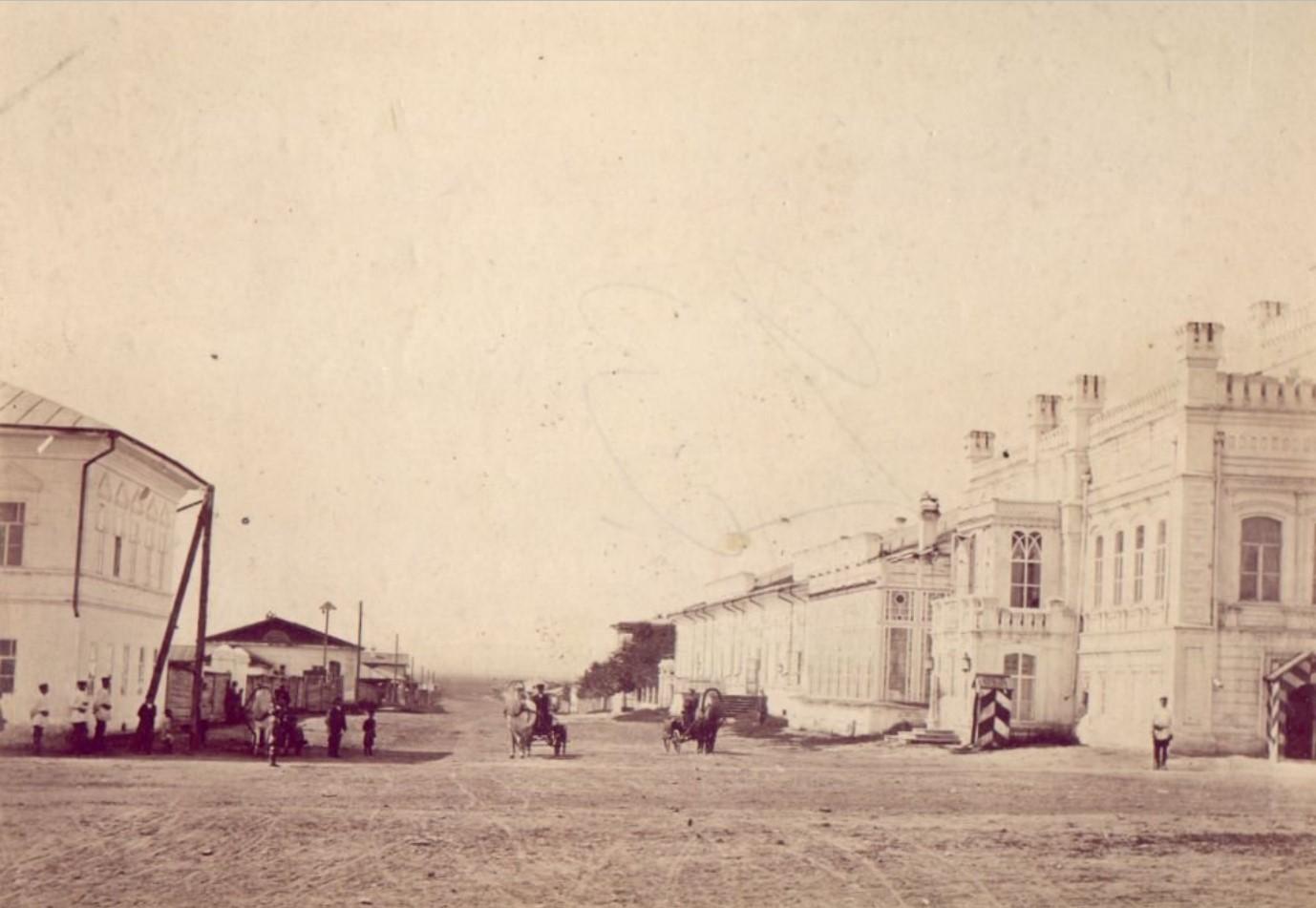 Дворец М.Д.Бутина. Вид с Большой улицы