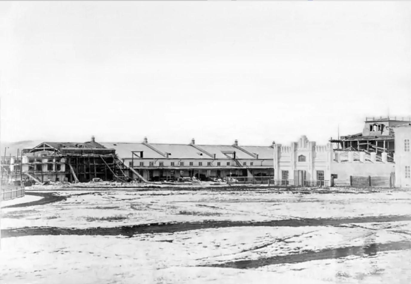 Строительство усадьбы М.Д. Бутина