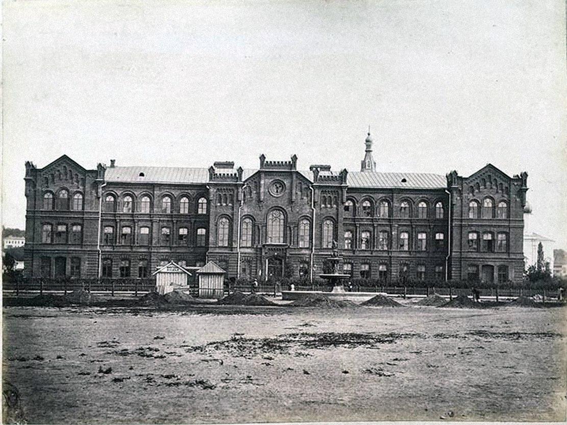 Реальное училище на Старомосковской улице