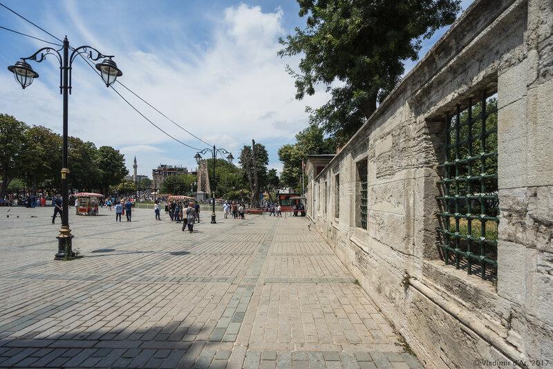 Нулевая миля. Стамбул.