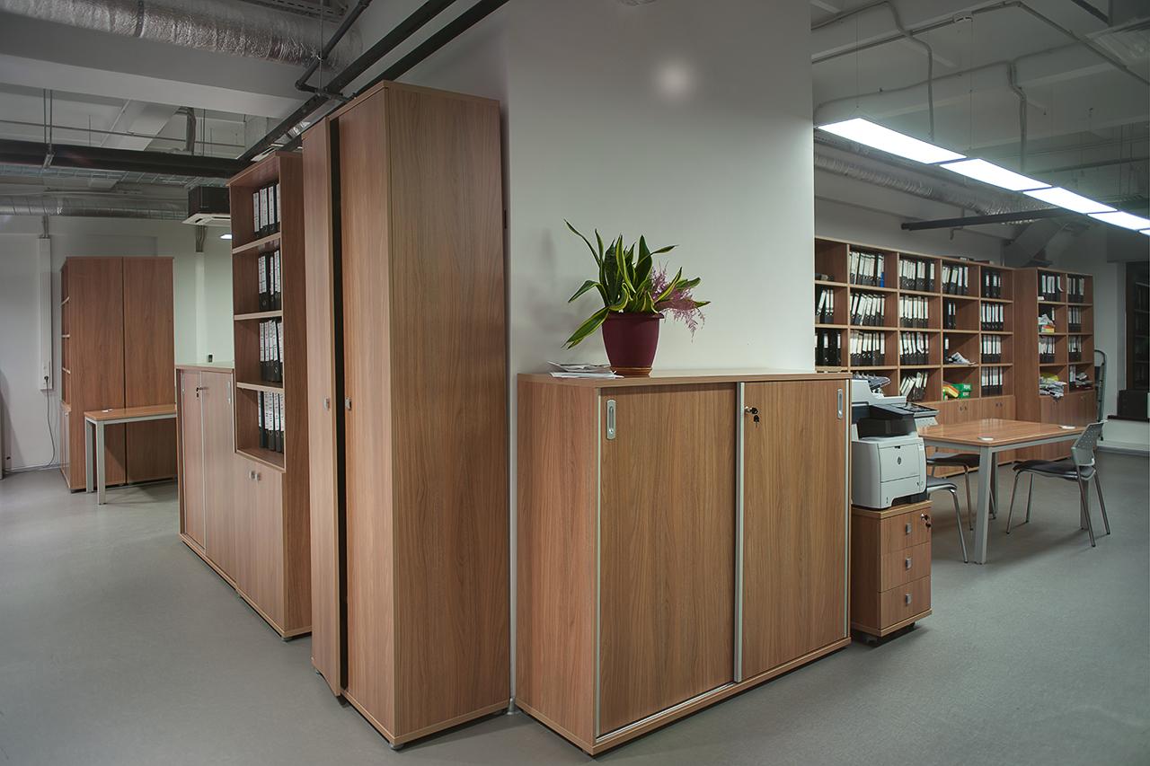 интерьеры кабинетов и архивов ТВ