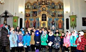 Урок Основ православной культуры в храме