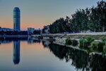 Екатеринбург перед рассветом