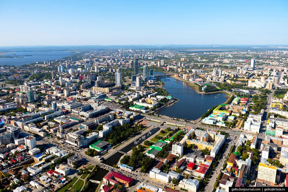 5. Плотинка. Реку в Екатеринбурге перегородили для нужд металлоплавильного и механического казённого