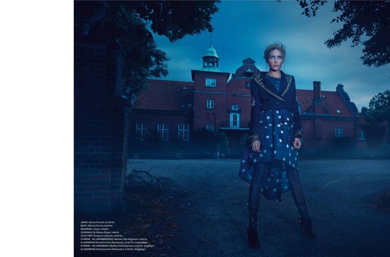 Снежана Онопка в датском IN Magazine
