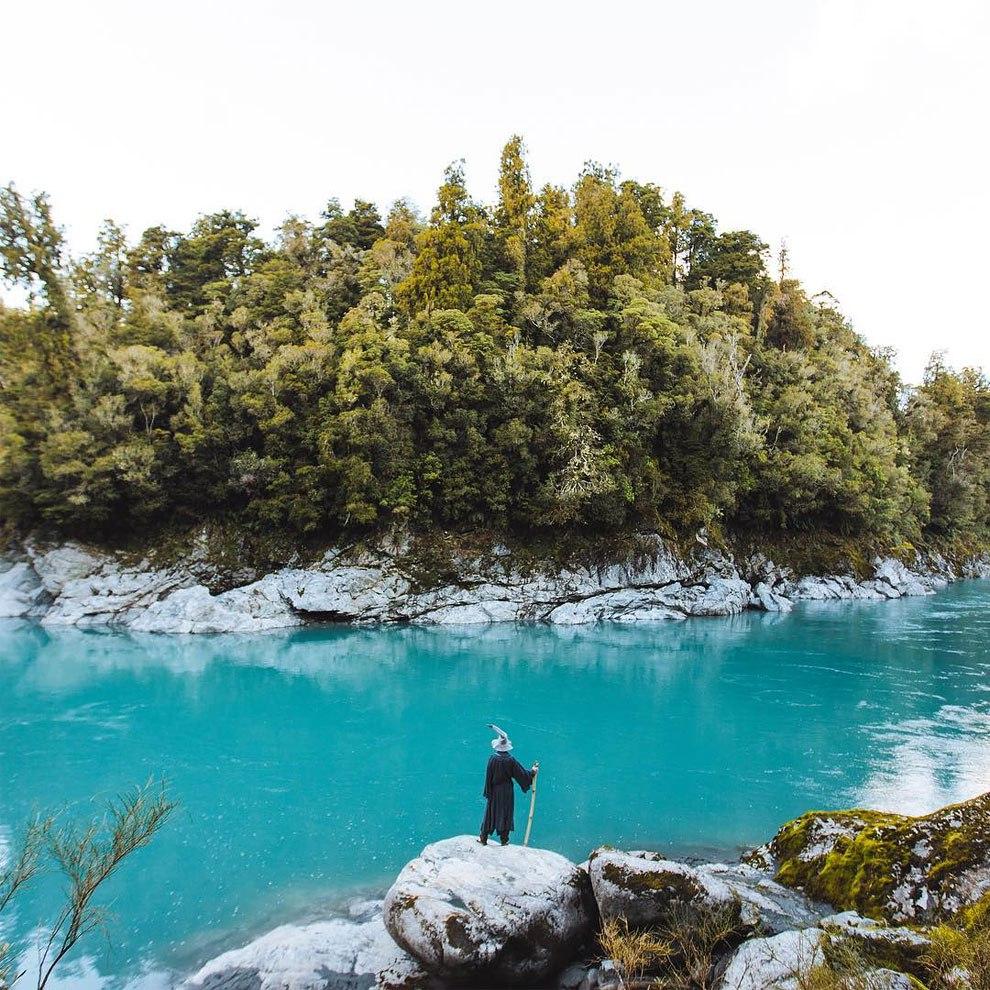 """Путешествия """"Гендальфа"""" по Новой Зеландии"""