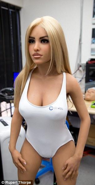 Секс-робот больше не странная фантазия, а тревожная реальность (8 фото) 18+