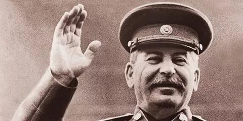 Смешной ответ Сталина (1 фото)