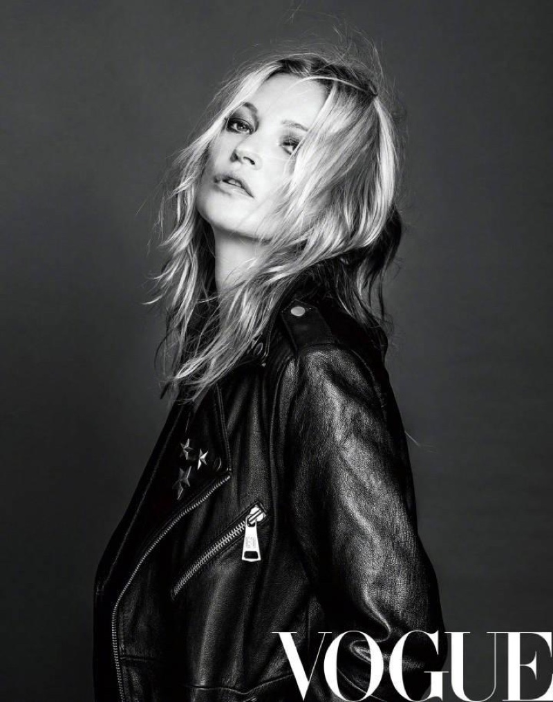 Кейт Мосс в Vogue China (4 фото)