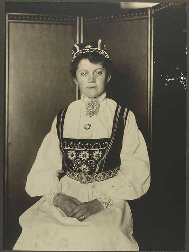 10. Женщина из Норвегии