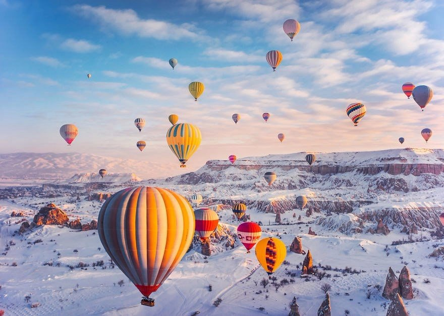 Каппадо?кия, Турция. Автор: Kristina Makeeva (9 фото)