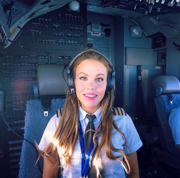 Шведка Малин Рюдквист — пилот Boeing 737