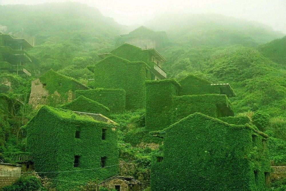 Красота заброшенной природы: китайский архипелаг Шенгси