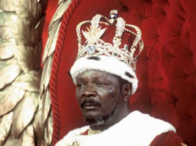 16. Жан Бидель Бокасса   Почему-то в некоторых странах отношение народа к правителю смахивает н