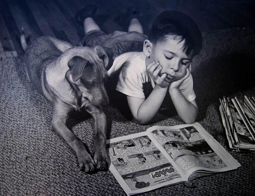 Винтажные фотографии, показывающие, что особая связь между людьми и животными была всегда (25 фото)