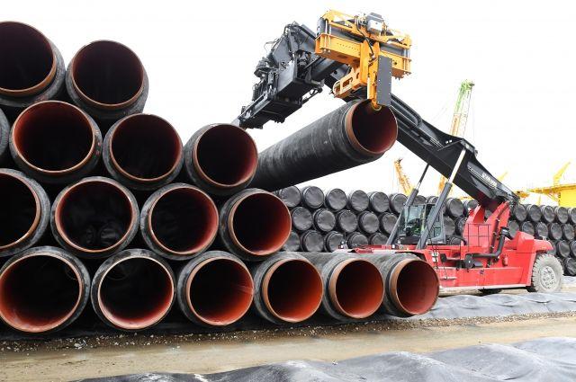 Германские  партнеры РФ  продолжат снабжать средствами  «Северный поток-2»