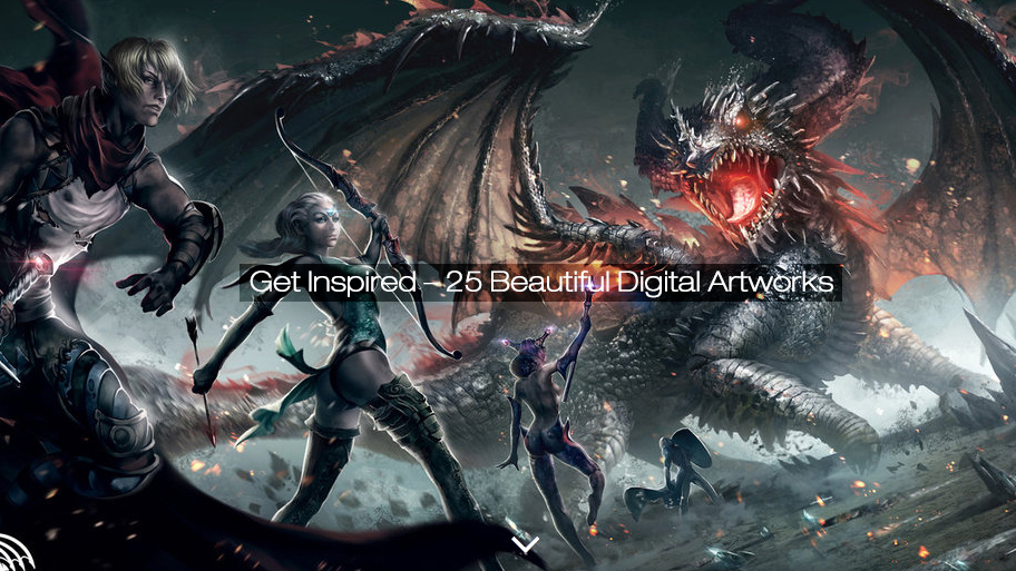Get Inspired – 25 Beautiful Digital Artworks (25 pics)