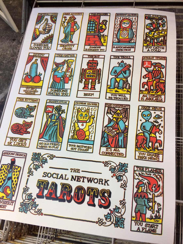 Social Tarot – Comment lire votre avenir dans les reseaux sociaux