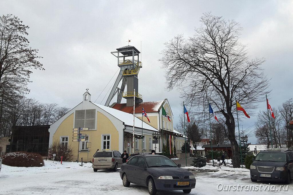 Надземная часть соляных шахт Величка