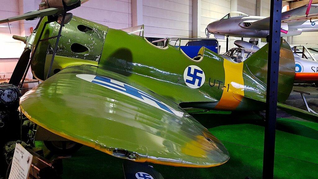 Финский музей авиации. И-16 тип 15 (УТИ-4) 01.jpg