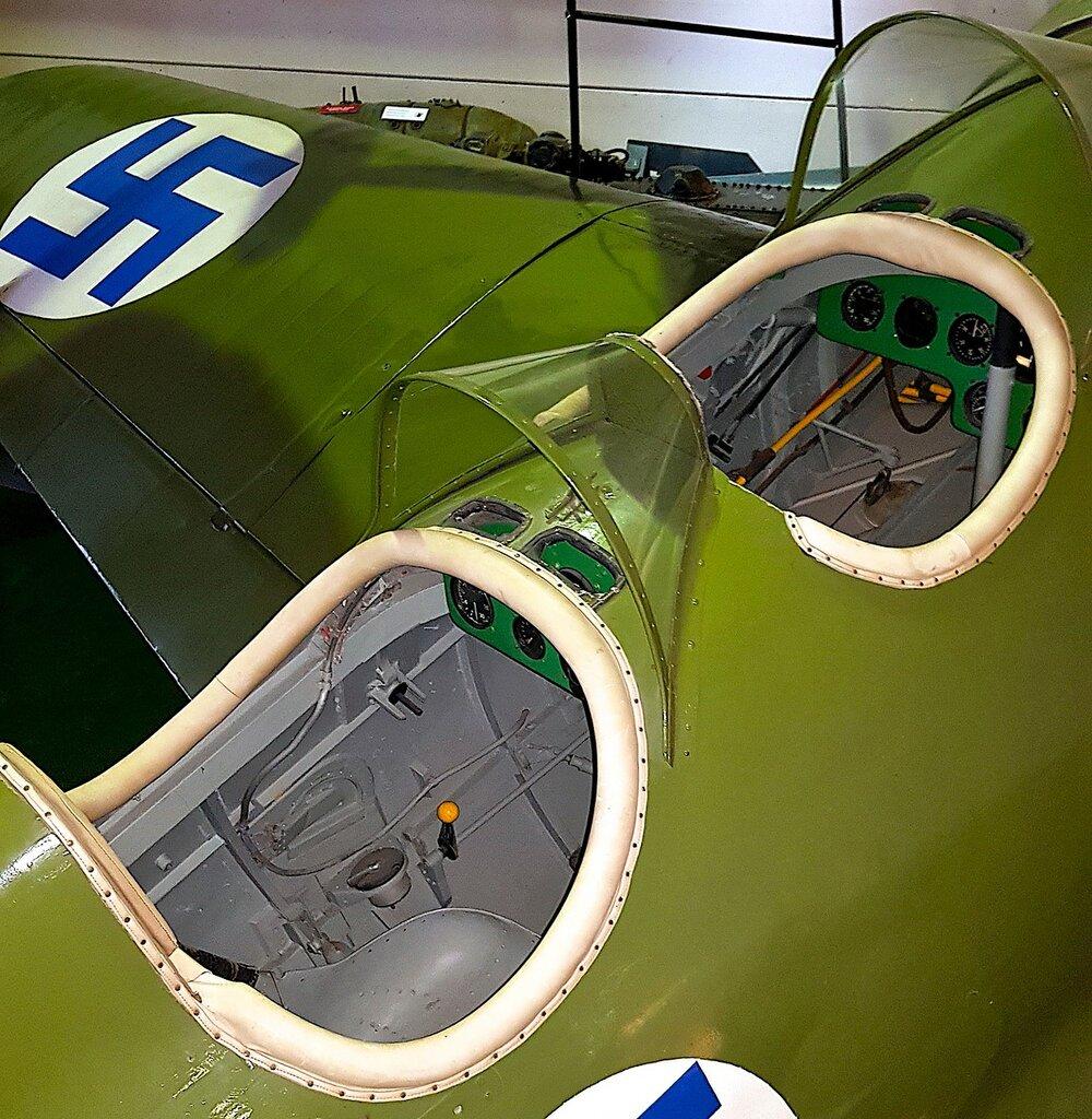 Финский музей авиации. И-16 тип 15 (УТИ-4) 03.jpg
