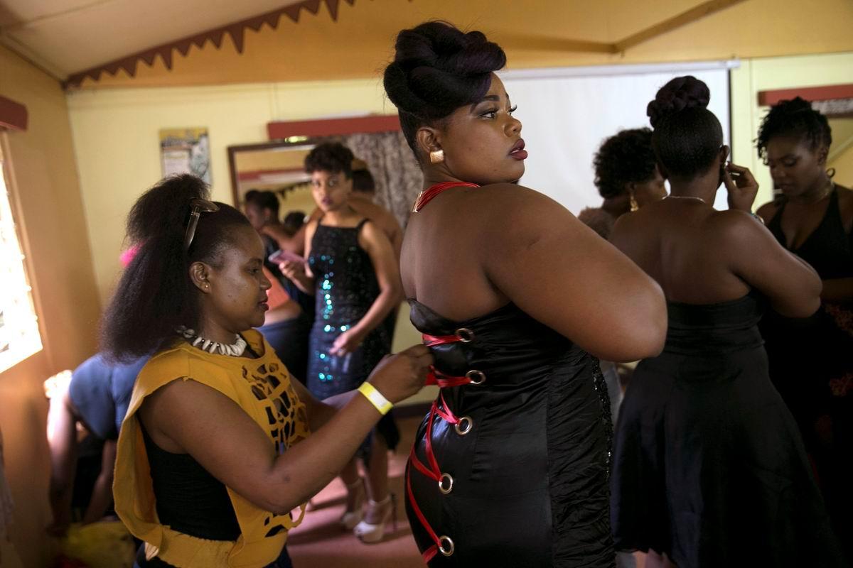 Кто тут последний в очереди за громкими титулами?: Кенийская претендентка на звание Королевы красоты