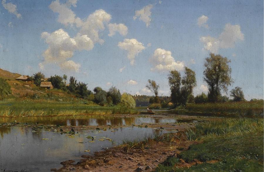 view near lubni, Ukraine.