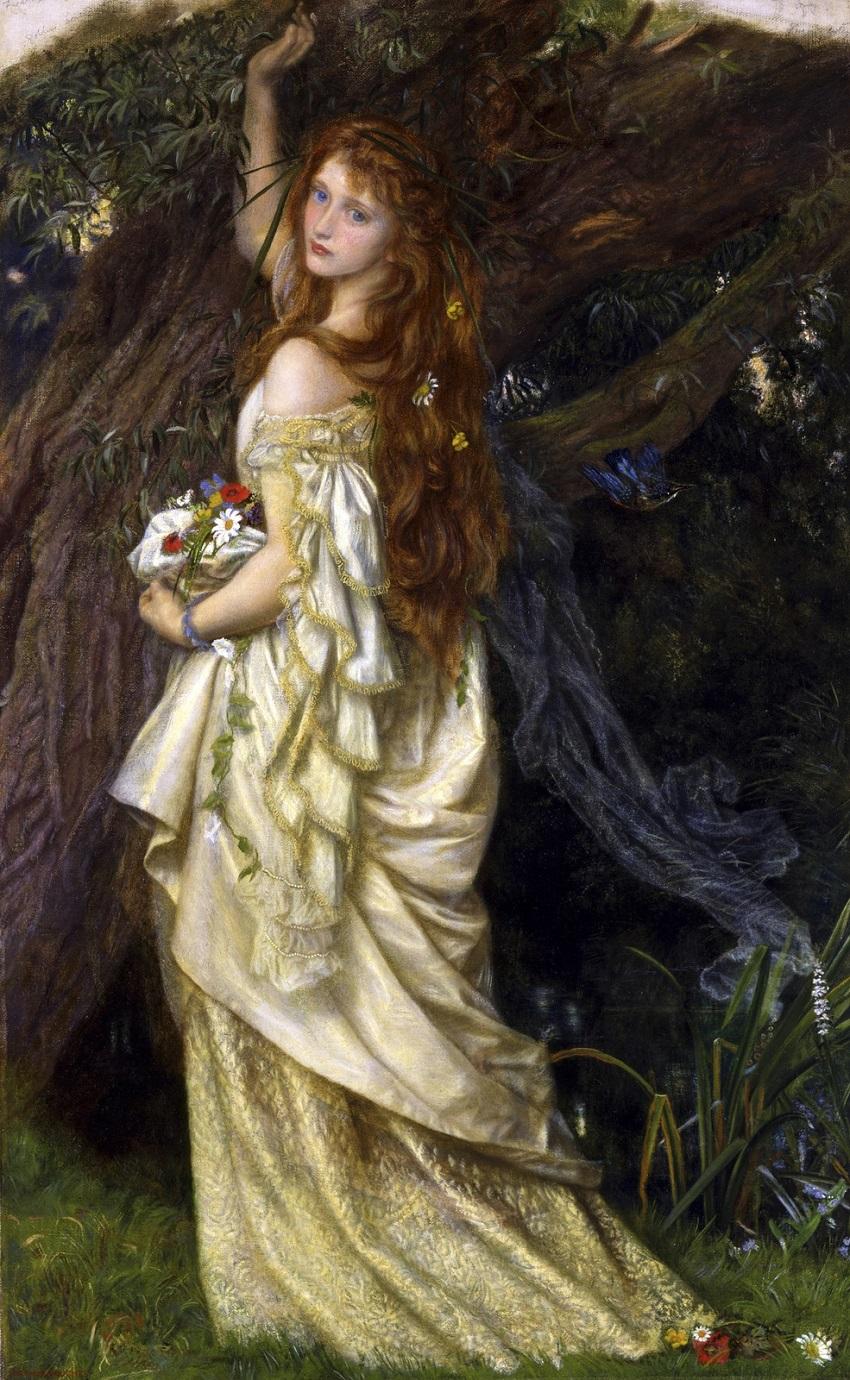 1865 (ок) Офелия (и он больше не вернется) (Ophelia (And he will not come back again) США, Толедо, Художественный музей