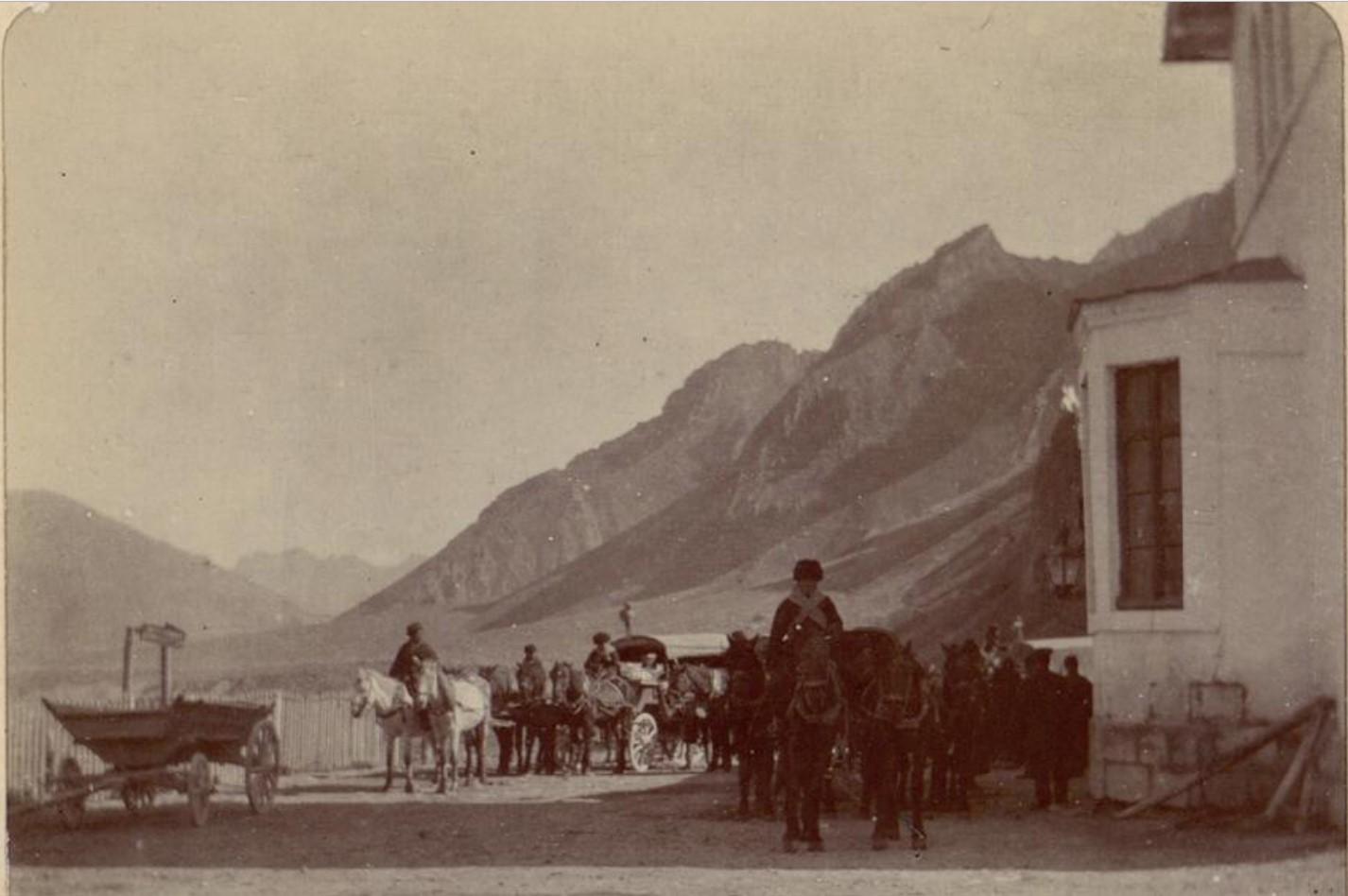 13. Военно-Грузинская дорога. Станция Коби