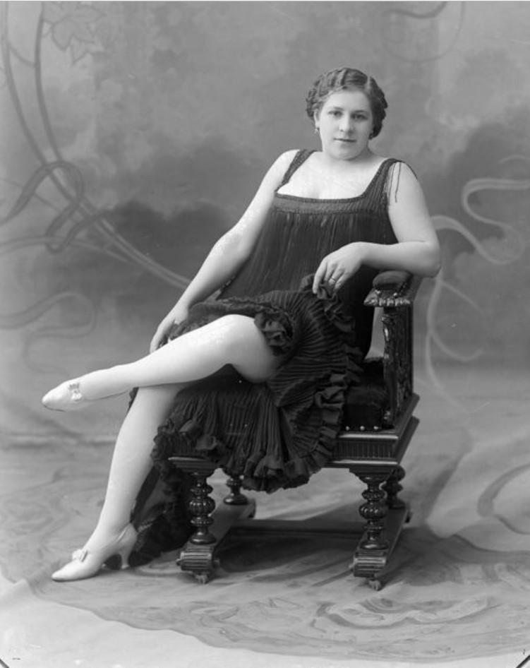 1890-1900. Бойкова - шансонетка Нижегородской ярмарки
