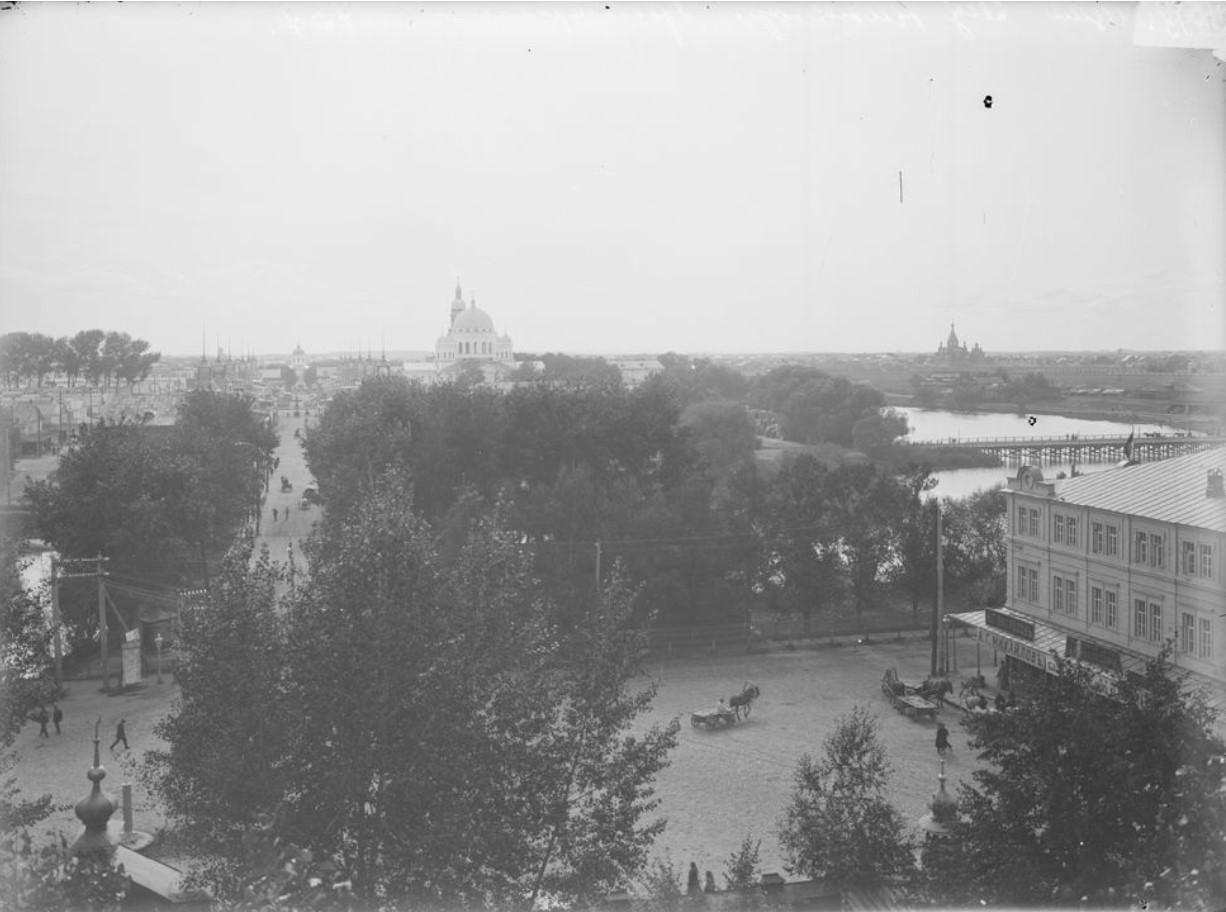 Вид на Нижегородскую ярмарку