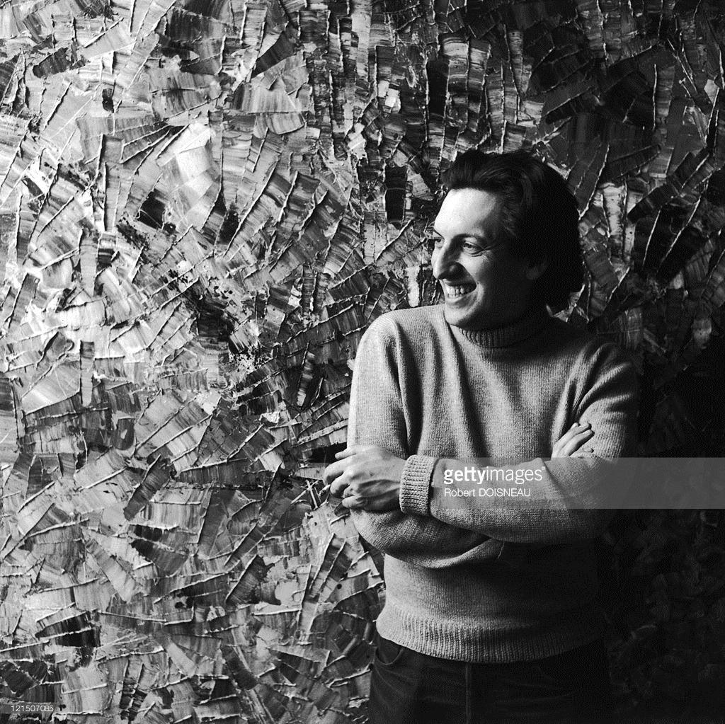 1956. Жан-Поль Риопель, художник