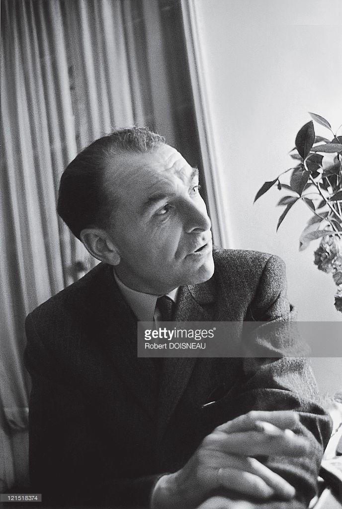 1960. Палм-Спрингс, январь. Портрет Робера Дуано