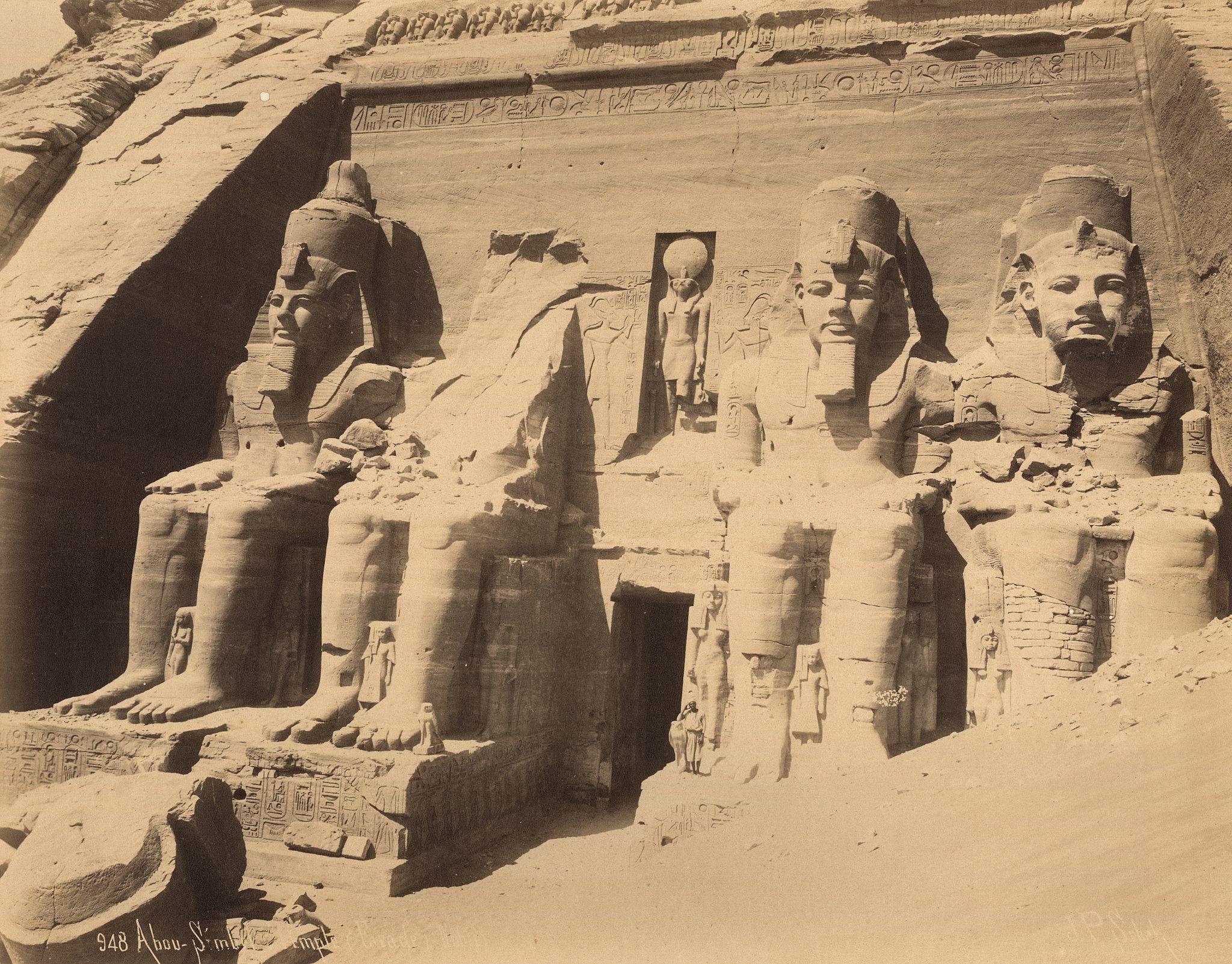 Абу-Симбел, Изображение Рамсеса II