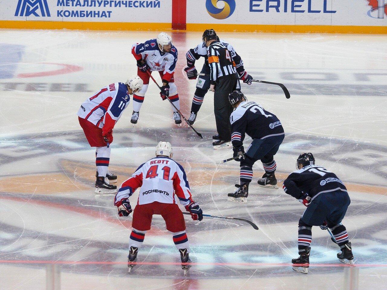 73 Металлург - ЦСКА 18.10.2017