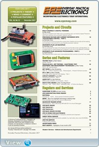 Everyday Practical Electronics №12 (December 2017)