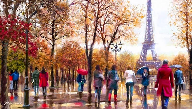 5 художников, влюбленных в осень (20 фото)
