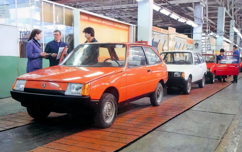 34. А ГАЗ-3105 «Волга» 1987-го так и остался концептом: