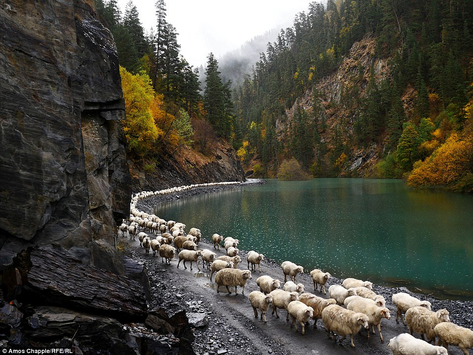 Один из самых нетронутых пейзажей в Европе.