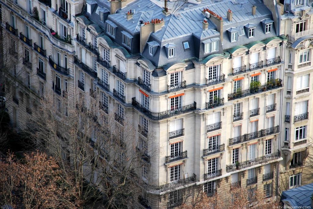 7. Характерный для Парижа архитектурный стиль.