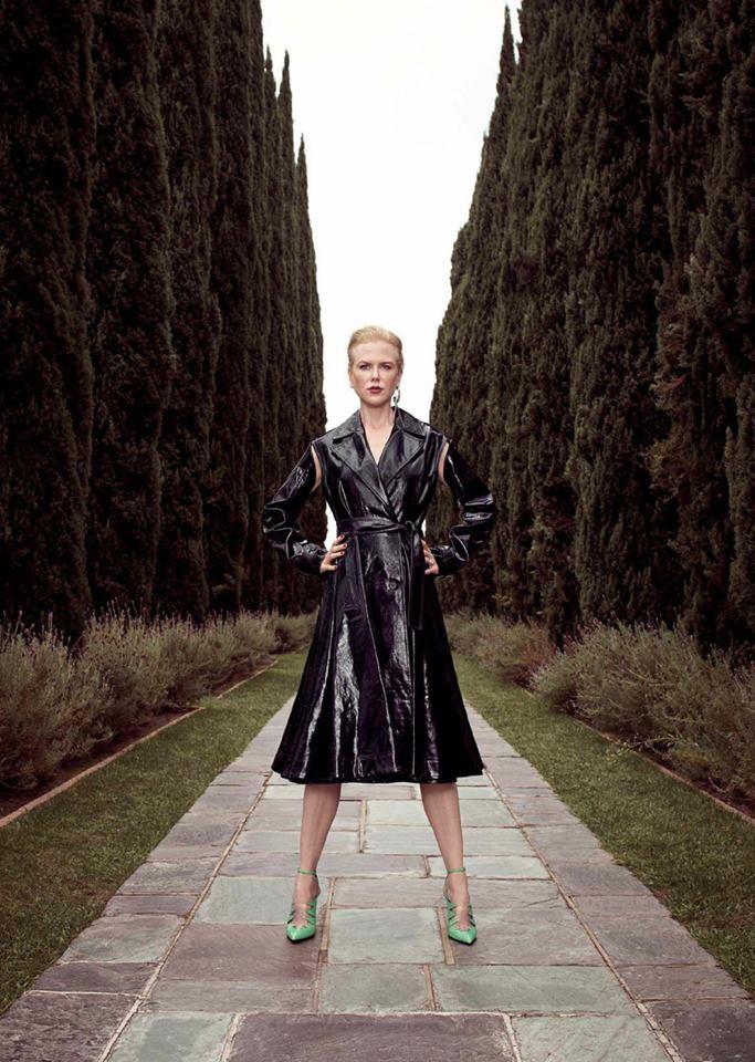 Николь Кидман в Glamour