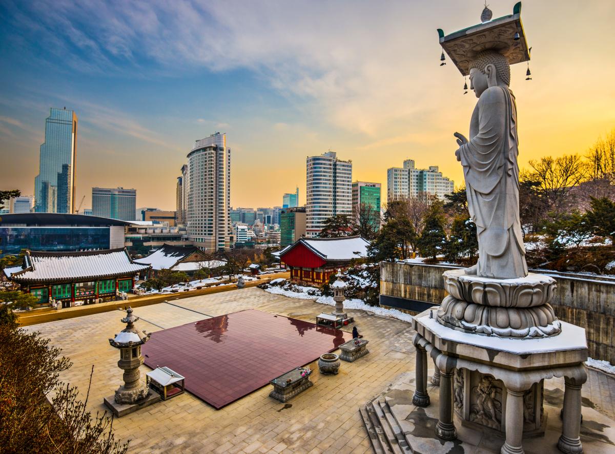 Столица Южной Кореи оказалась среди самых дорогих для проживания городов мира из-за высоких цен на о