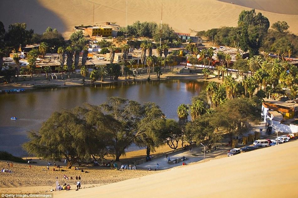 Удивительный город-оазис среди пустыни в Перу
